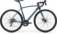 Велосипед Merida CycloCross 300 Petrol (Yellow/Lite Teal) 2019 XS(47cm)
